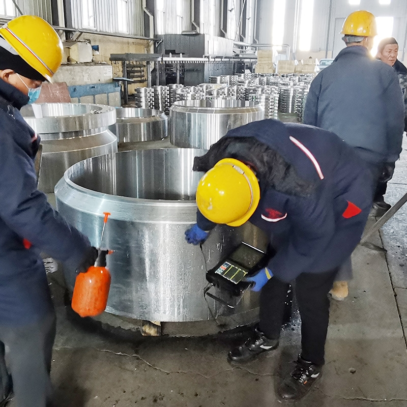 发往苏州的五十吨碳钢锻件