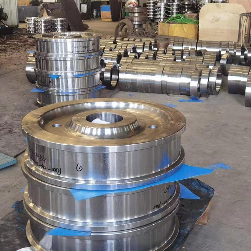 起重机轮,车轮,材质4140.发往阿根廷的订单